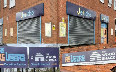 Building the walls of the Jericho brand