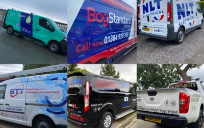 December was THE month for vehicle graphics